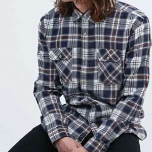 High Voltage Check Flannel Shirt