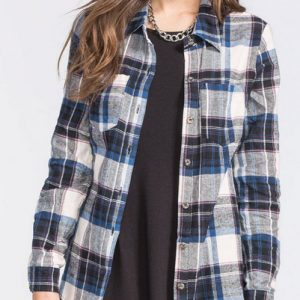 Ingrained Imp Long Sleeve Flannel Shirt