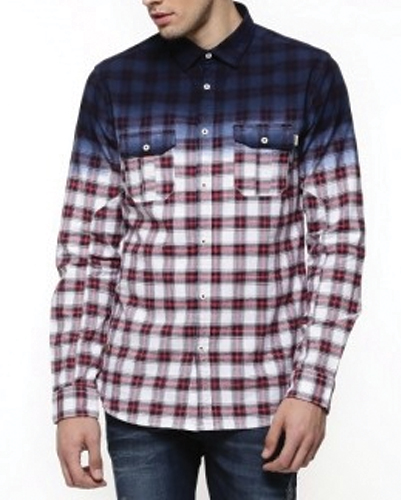 Ink Cape Long Sleeve Flannel Shirt