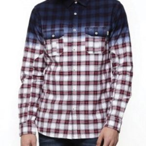 Irving Royal Ink Flannel Shirt