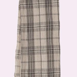 Jacquard Check Beige Towel