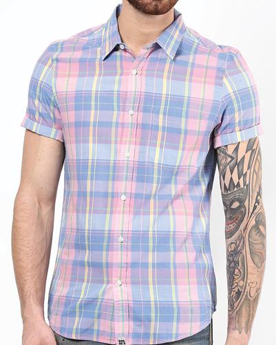 Lavender Loner Flannel Shirt