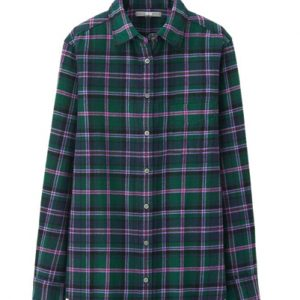 Little Lady Blue Flannel Shirts Suppliers