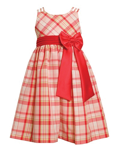 Little Lady Flannel Check Dress