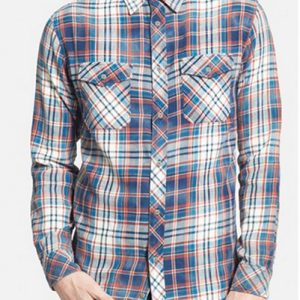 Logan Red Cool Flannel Shirt
