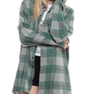 Long Baggy Winter flannel Shirt manufacturer