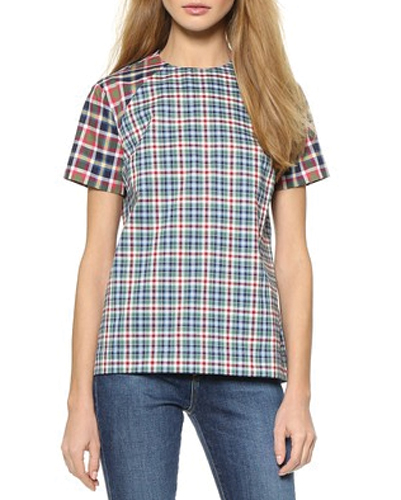 Lovely Jane Flannel Top