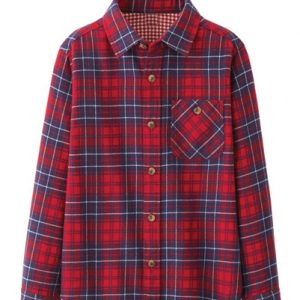 Mad Rush Flannel Check Shirt
