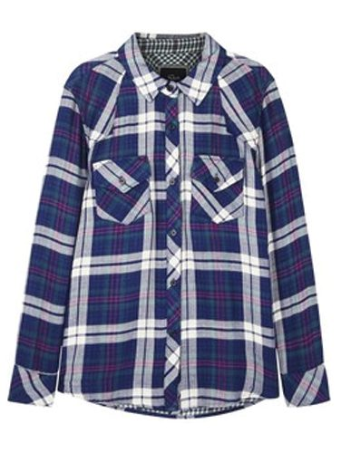 Marcelino Royale Check Flannel Shirt