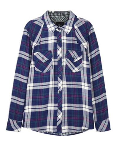 Marcelino Royale Check Flannel Shirts Suppliers