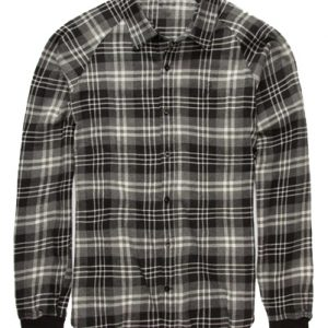 Mash Up Black Check Flannel Shirt