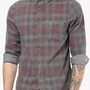 Mashed Plum Flannel Shirt