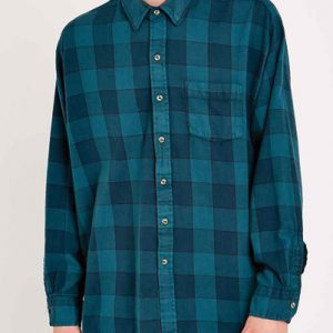 Matchbox Blue Checks Vintage Flannel Shirt