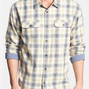 Mellow Camp Collar Cool Flannel Shirt