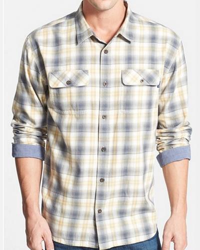 Mellow Camp Collar Cool Flannel Shirt