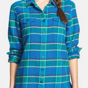 Mermaid Skin Cool Flannel Shirt