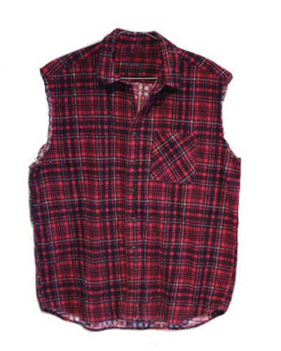 Wholesale Modern Maroon Checked Vest