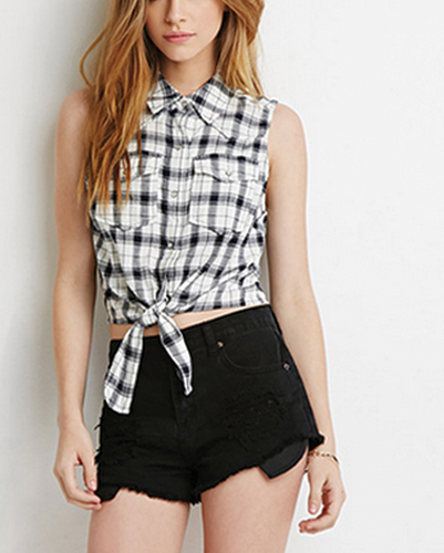 Monochromatic Tied-up Flannel Shirts Suppliers