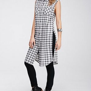Monochromatic Tunic Dress