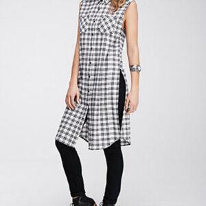 Monochromatic Tunic Dress