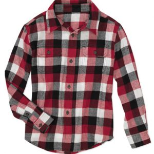 Mulberry Flannel Check Shirt