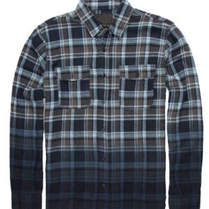 Ombre Flannel Shirt