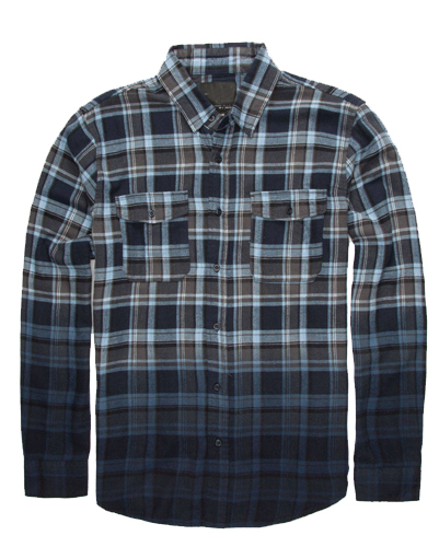 Ombre Flannel Shirts Wholesale