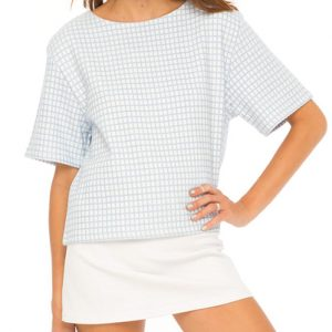 Oversized Light Formal Top