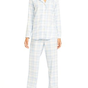 Pale Blue Pajama Set