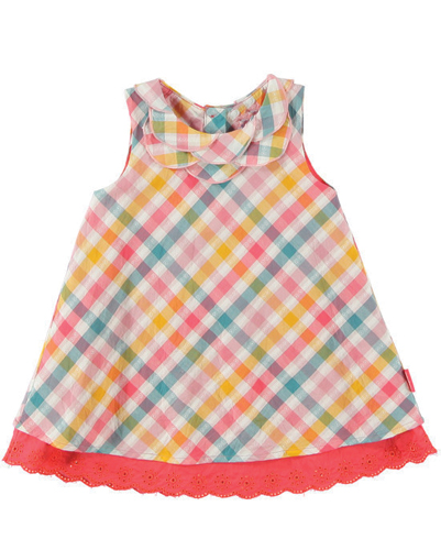 Party Doll Flannel Check Dress