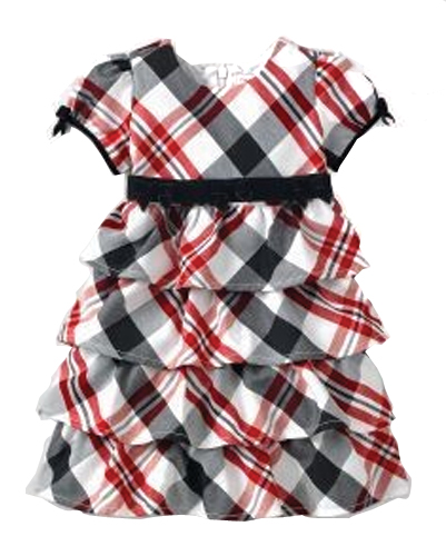Party Prime Flannel Check Dress