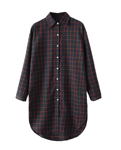 Passion Check Vintage Flannel Shirt