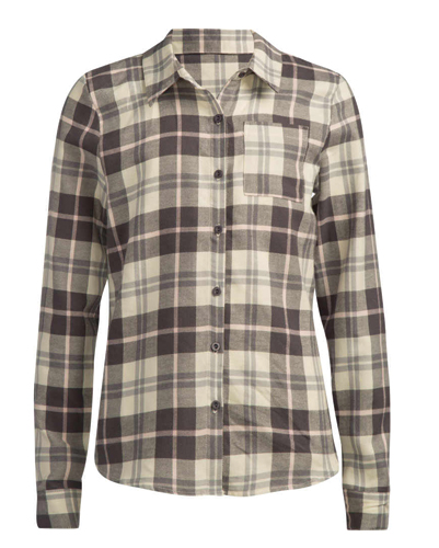 Peach Hooded Cool Flannel Shirts