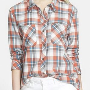 Peach Plush Cool Flannel Shirts