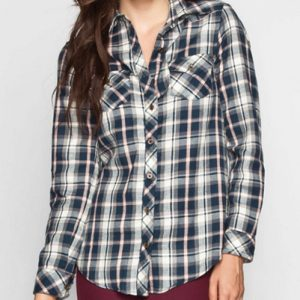 Penta Refined Long Sleeve Flannel Shirt