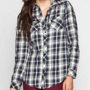Penta Refined Long Sleeve Flannel Shirt
