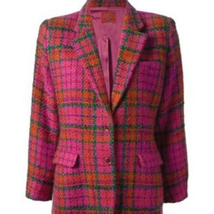 Pink Vivacious Flannel Jacket