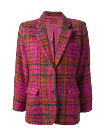 Pink Vivacious Flannel Jacket