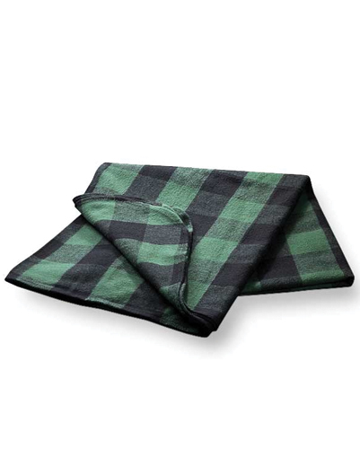 Plush Patterned Flannel Blanket