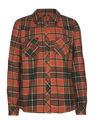 Quirky Green Girls' Flannel Shirts
