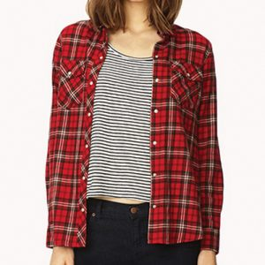 Radically Yours Red Flannel Shirt