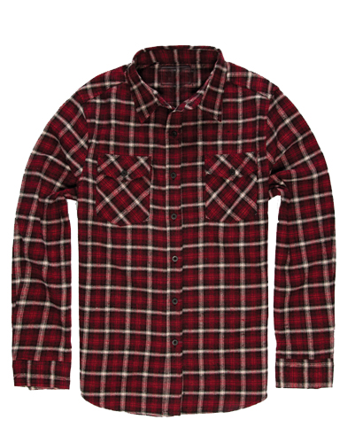 Rapid Red Flannel Shirt