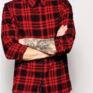 Ravishing Doll Red Flannel Shirt
