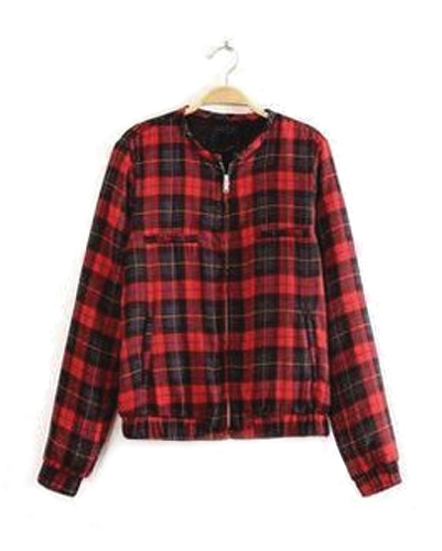 Red and Black Baggy Jacket