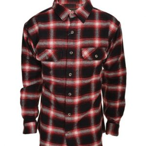 Red-Black Field and Stream Flannel Shirt