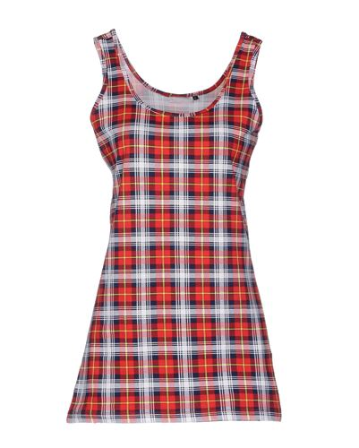 Wholesale Red Blue Flannel Vest For Ladies Manufacturer