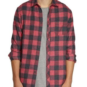 Red Bricks Cotton Flannel Shirts