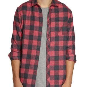 Red Bricks Cotton Flannel Shirts