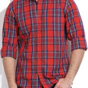 Red Hot Pepper Vegetable Flannel Shirt
