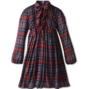 Red Rider Flannel Check Dress
